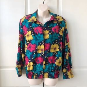 Vintage Notations blouse shirt